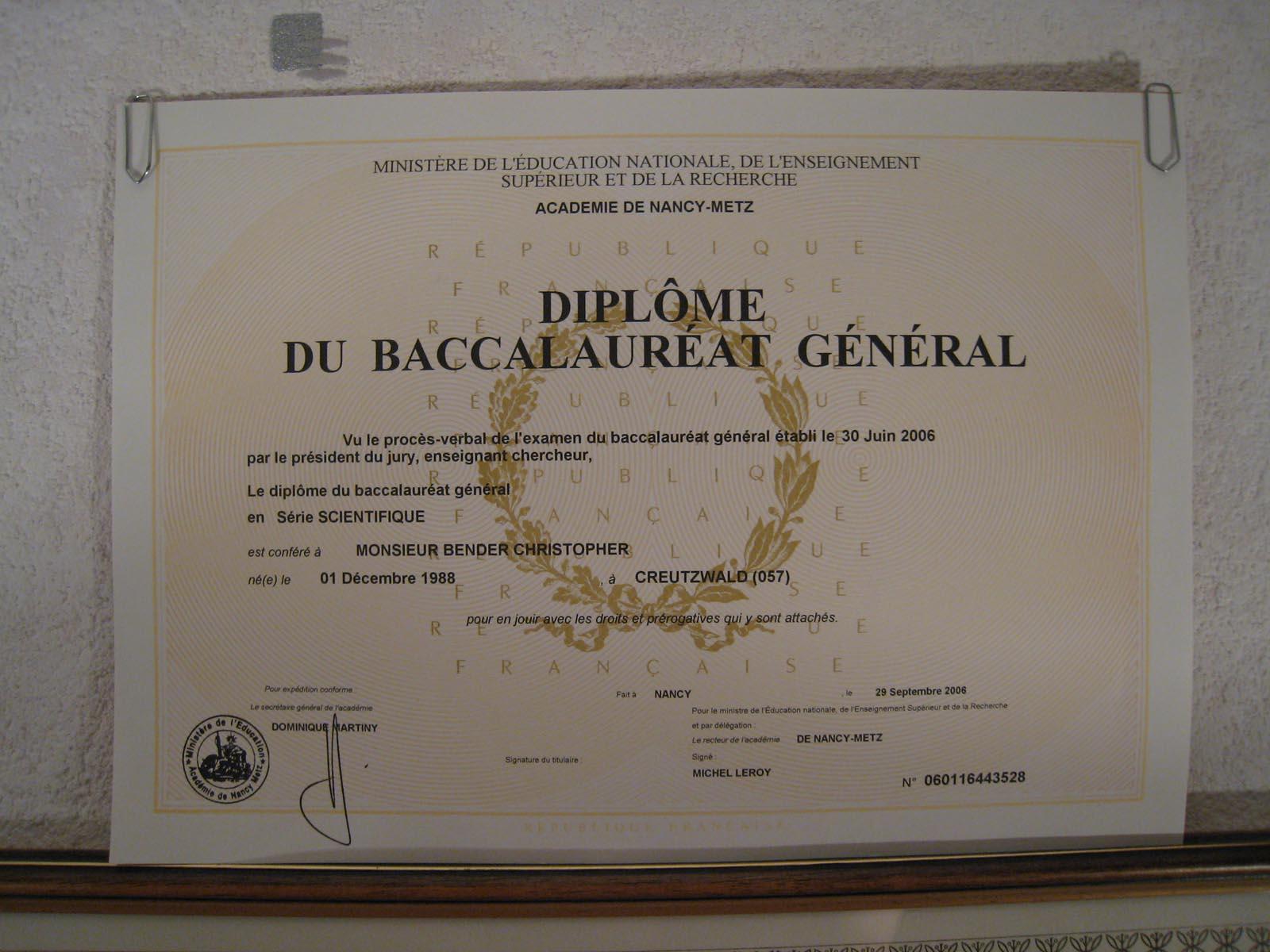 Bac franais dissertation 2008